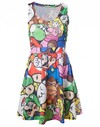 Nintendo - Mario & Friends - Multicolour Dress (Large)