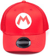 Nintendo - Super Mario Bros. - Curved Bill Trucker - Kids Cap Red