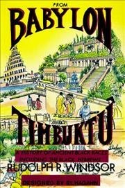 From Babylon to Timbuktu - Rudolph R. Windsor (Paperback) - Cover