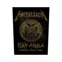 Metallica - Bay Area Thrash (Back Patch) - Cover