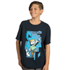 Minecraft - Mine Alex - Youth T-Shirt - Navy (Xs 7/8)