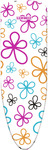 Leifheit - Ironing Board Cover Cotton Classic - Fancy Flowers (Medium)