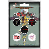 Motley Crue - Dr Feelgood Button (Button Badge Pack) - Cover