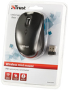 Trust - Yvi Wireless mini Mouse - Black