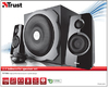 Trust - Tytan 2.1 Subwoofer Speaker Set -Black