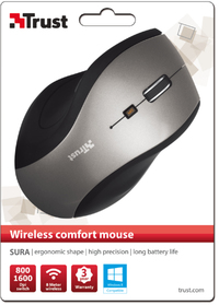 Trust - Sura Wireless Comfort Mouse