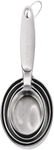 Cuisipro - Measuring Cups - Stainless Steel (4 Piece Set)