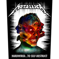Metallica - Hardwired To Self Destruct (Back Patch) - Cover