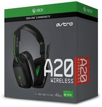 ASTRO Gaming - Wireless Headset - A20 - Grey/Green (Xbox One/PC)