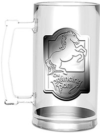Lord of the Rings - Prancing Pony Stein Glass - Cover