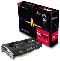 Sapphire Pulse AMD Radeon RX570 4GD5 OC Edition Gaming Graphics Card - Cover