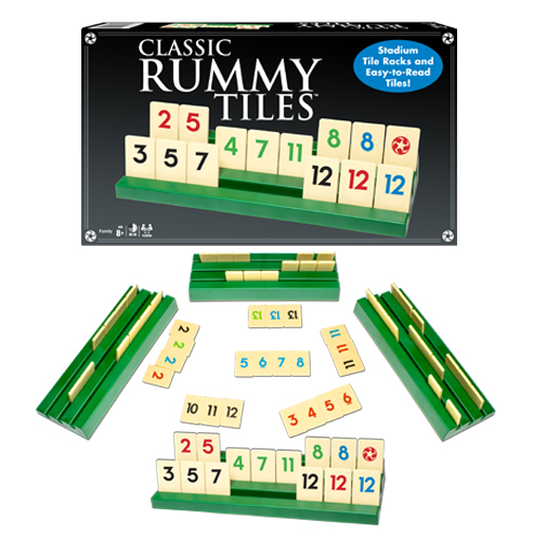 Classic Rummy Tiles (Board Game)