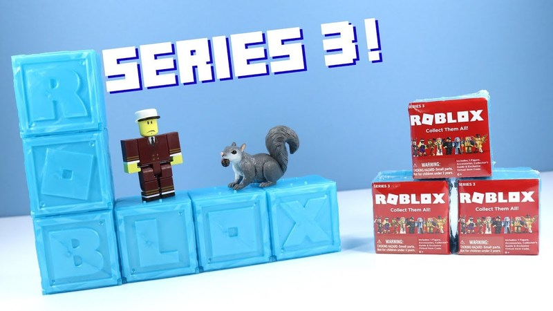 Roblox Mystery Box Series 3 - Roblox Series 3 Mystery Box Figures Blind Box