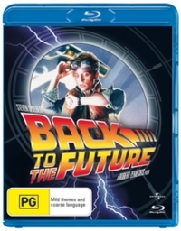 Back to the Future (Blu-ray) - Cover
