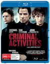 Criminal Activities (Blu-ray)