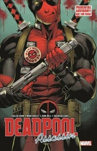 Deadpool - Assassin 1 - Cullen Bunn (Paperback) - Cover