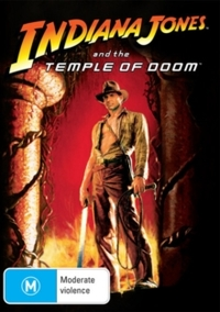 Indiana Jones and the Temple of Doom (DVD) - Cover