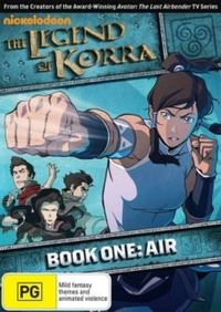 Legend Of Korra: Book One: Air (DVD) - Cover