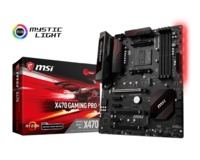 MSI X470 Gaming Pro Socket AM4 ATX Gaming Motherboard