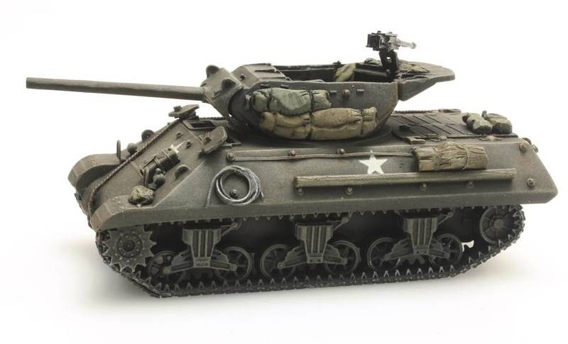 Artitec - 1/87 - M10A1 US Army Tank (Metal Model Kit)