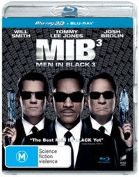 Men in Black 3 (Blu-ray) - Cover
