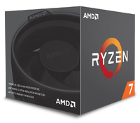 AMD RYZEN 7 2700X 8-Core 3.7 GHz (4.3 GHz Max Boost) Socket AM4 105W Desktop Processor