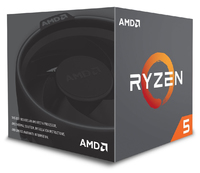 AMD RYZEN 5 2600 6-Core 3.4 GHz (3.9 GHz Max Boost) Socket AM4 65W Desktop Processor - Cover