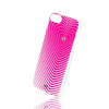 White Diamonds Heartbeat Cover for Apple iPhone 5 and 5s - Pink