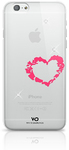 White Diamonds Lipstick Cover for Apple iPhone 6 and 6s - Heart