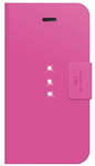 White Diamonds Crystal Wallet Folio Case for Apple iPhone 6 and 6s - Pink