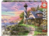 Educa - Lighthouse At Rock Bay Puzzle (1000 Pieces) - Cover