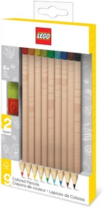 LEGO IQHK - Coloured Pencils With Toppers (Pack of 9)