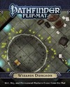 Pathfinder Flip-mat - Wizard's Dungeon (Role Playing Game)