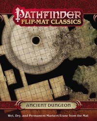 Pathfinder Flip-mat Classics - Ancient Dungeon (Role Playing Game) - Cover