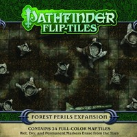 Pathfinder Flip-Tiles - Forest Perils Expansion (Role Playing Game) - Cover