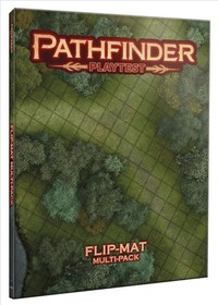Pathfinder Playtest - Flip-mat Multi-pack (Role Playing Game) - Cover
