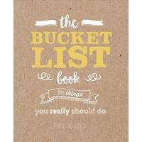 The Bucket List Book - Elise De Rijck (Paperback)