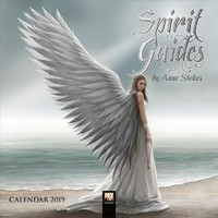 Spirit Guides by Anne Stokes 2019 Calendar - Flame Tree (Calendar) - Cover