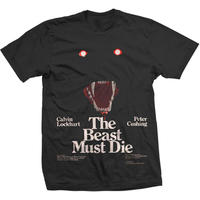 Studio Canal the Beast Must Die Mens Black T-Shirt (X-Large)