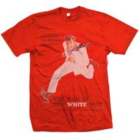 Studio Canal The Man In The White Suit Mens Red T-Shirt (XX-Large) - Cover