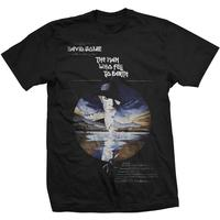 Studio Canal the Man Who Fell to Earth Mens Black T-Shirt (Small)