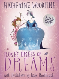 Rose's Dress of Dreams - Katherine Woodfine (Paperback) - Cover