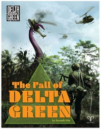 The Fall of Delta Green (Role Playing Game) - Cover