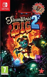 SteamWorld Dig 2 (Nintendo Switch) - Cover