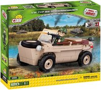 Cobi - Small Army - VW Type 166 Schwimmwagen (120 Pieces) - Cover