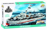 Cobi - World of Warships 1:200 Orp Blyskawica (660 Pieces) - Cover