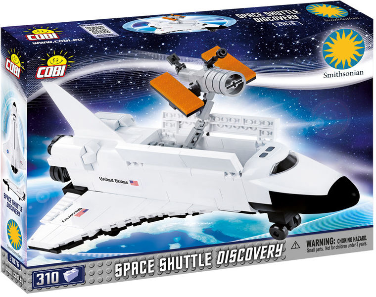 Cobi - Smithsonian - Space Shuttle Discovery (310 Pieces)