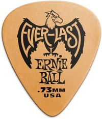 Ernie Ball Everlast 0.73mm Guitar Plectrum (Orange) - Cover