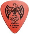 Ernie Ball Everlast 1.14mm Guitar Plectrum (Red)