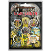 Iron Maiden - Early Albums (Button Badge Pack)